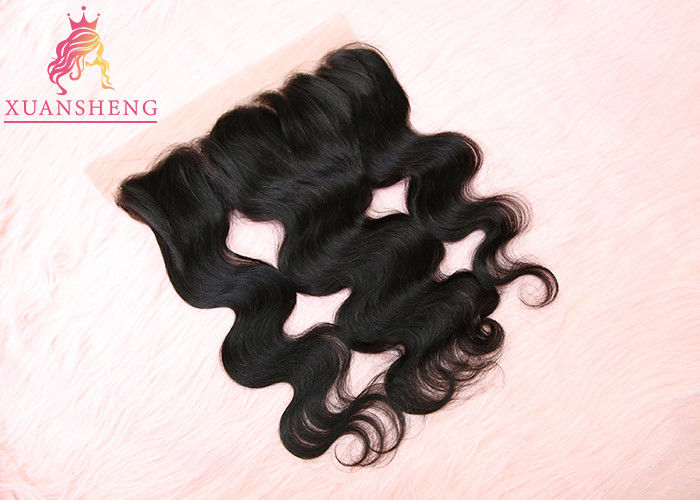 Body Wave 13x4 Lace Closure Raw Virgin Closure Hair / Mink Brazilian Hair