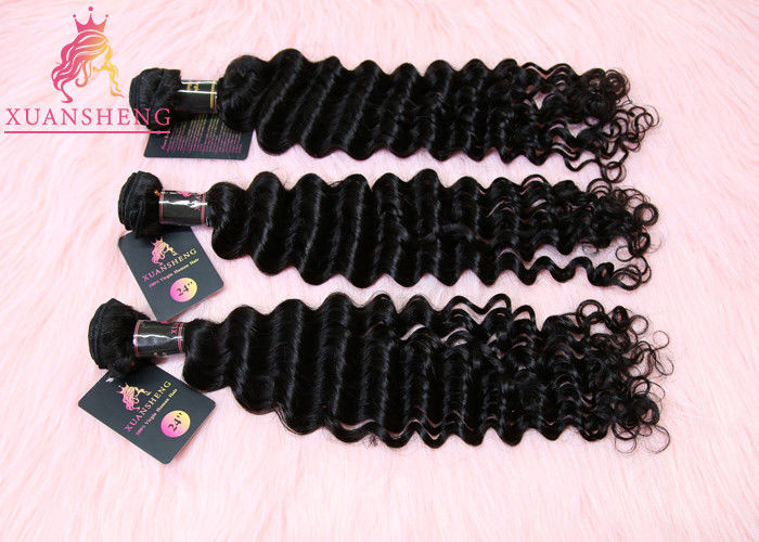 Curticle Aligned Virgin Indian Hair,  Full and Thick Indian Deep Wave Virgin Hair