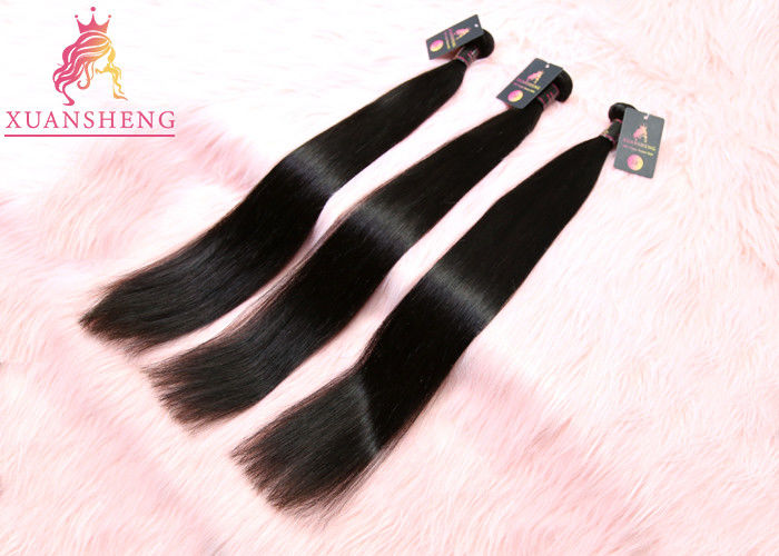 "Straight 100 Virgin Human Hair Natural Raw Unprocessed 10A Grade 8"" - 30"" Length"