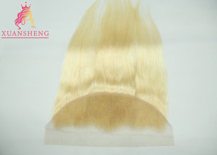Straight #613 Brazilian Blonde Lace Hair / Full Lace Frontal Closure 13x4 Weave